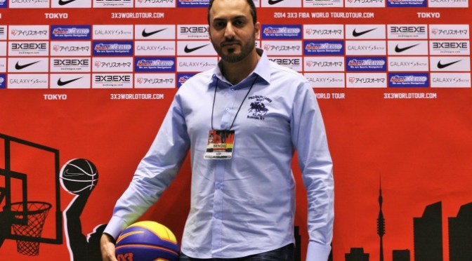 UAE Basketball Association representative, at FIBA 3×3 World Tour Final