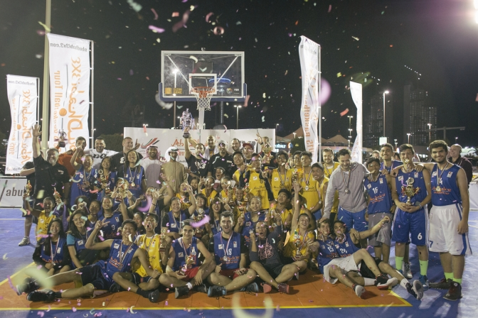 Record 90 teams at the first stage of Abu Dhabi 3×3 Tour