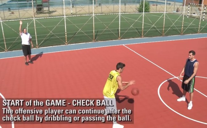 Rule of the day: Check ball