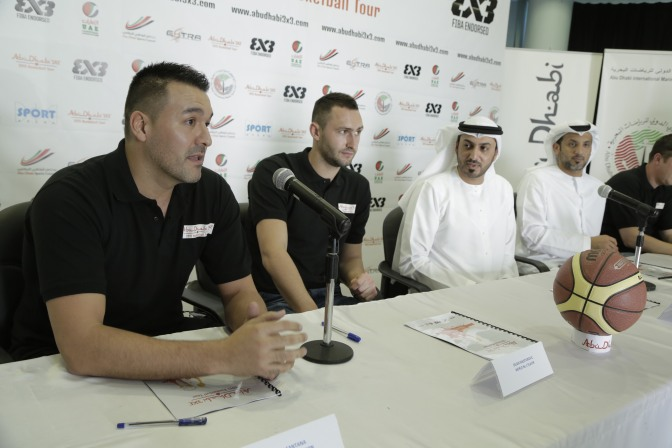 The world top players to open Abu Dhabi 3×3 Basketball Tour