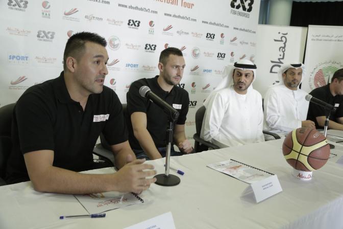 The world top players to open Abu Dhabi 3×3 Basketball Tour