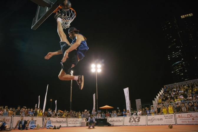Great show on the first day of Stage 4 – Abu Dhabi 3×3 Tour