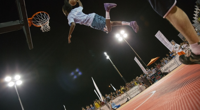 Life above the rim: Slam-dunk show in Abu Dhabi