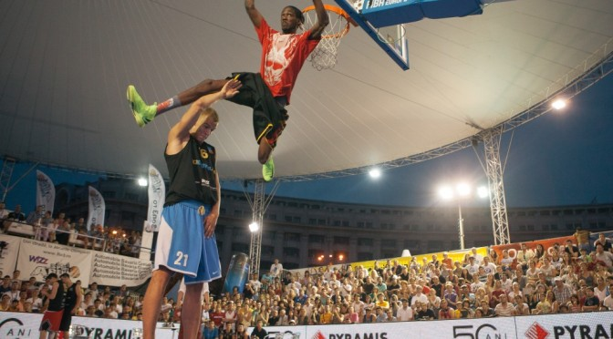 The best dunkers in the world, to perform at Abu Dhabi 3×3 Basketball Tour