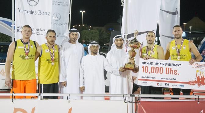 Al Wahda will represent Abu Dhabi in the FIBA 3×3 World Tour