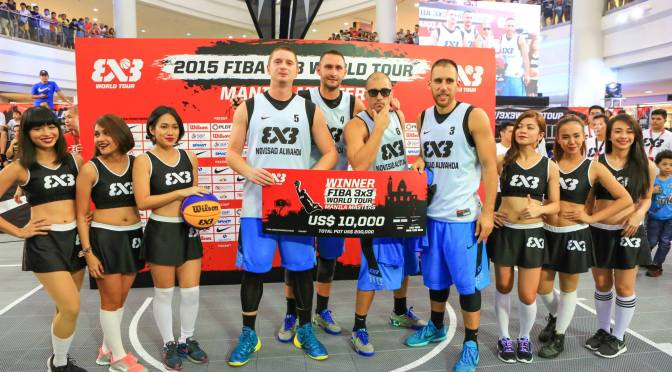 Al Wahda goes to the FIBA 3×3 World Tour Final