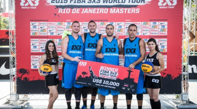 Al Wahda Novi Sad finished the #3x3WT season with a win!