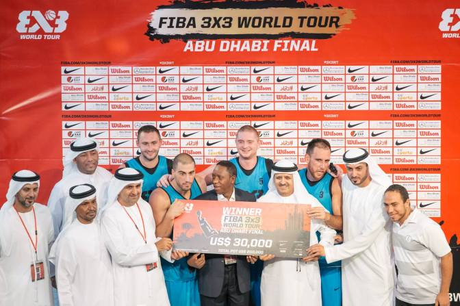 Al Wahda retains the FIBA 3×3 World Tour crown, in Abu Dhabi!