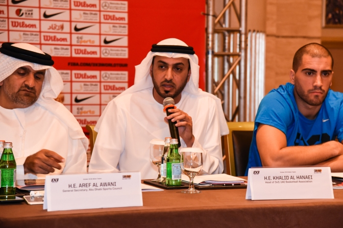 UAE basketball personality, awarded by FIBA
