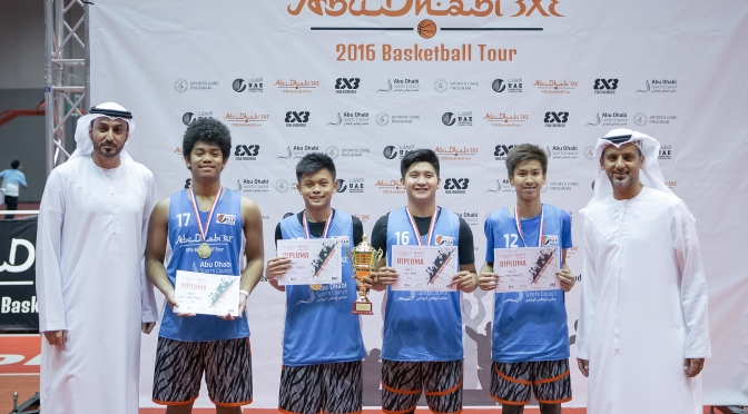 UAE All Stars won the first tournament of Abu Dhabi 3×3 Tour
