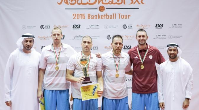 Team Al Wahda will again represent UAE in the FIBA 3×3 World Tour