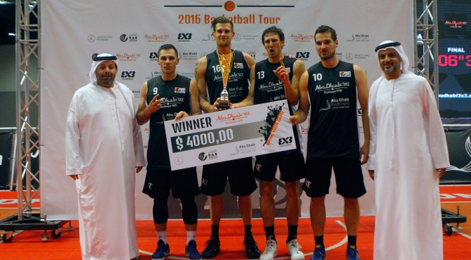 Ljubljana crowned champion of Abu Dhabi 3×3 Challenger