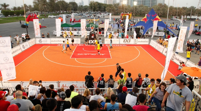 Abu Dhabi 3×3 Tour 2016, ready to start