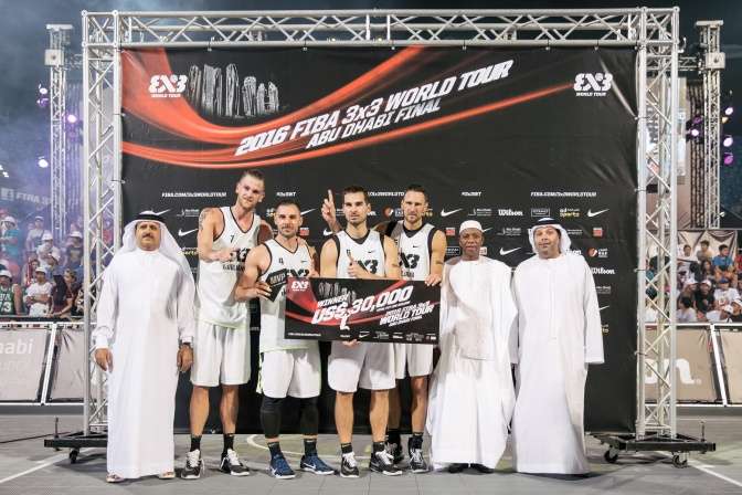 Ljubljana won the FIBA 3×3 World Tour in front of frenetic crowd