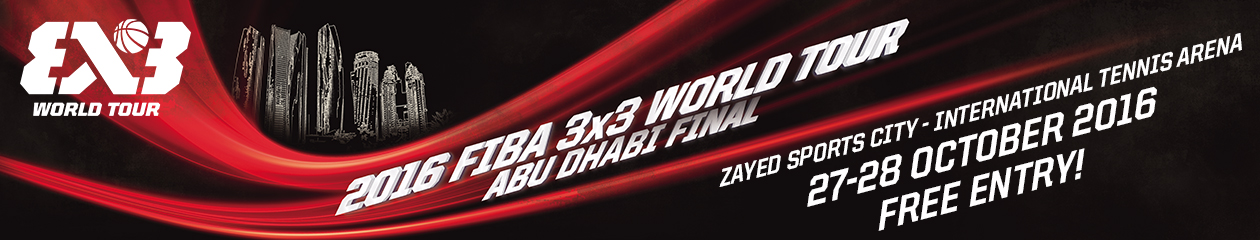 Official site of the Abu Dhabi 3×3 Basketball